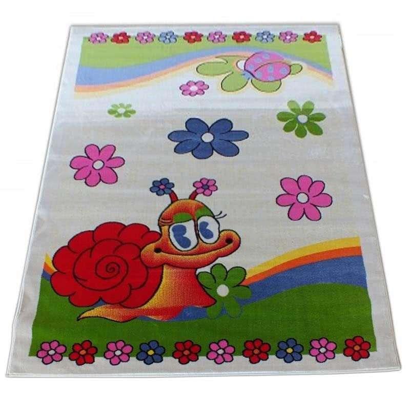 Dywan dla dziecka Smyk 01 - Kremowy