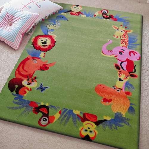 Dywan dla dziecka Kids 12 zielony