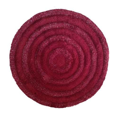 Pluszowy dywan Prestige 90 cm - bordowy