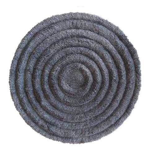 Pluszowy dywan Prestige 90 cm - szary