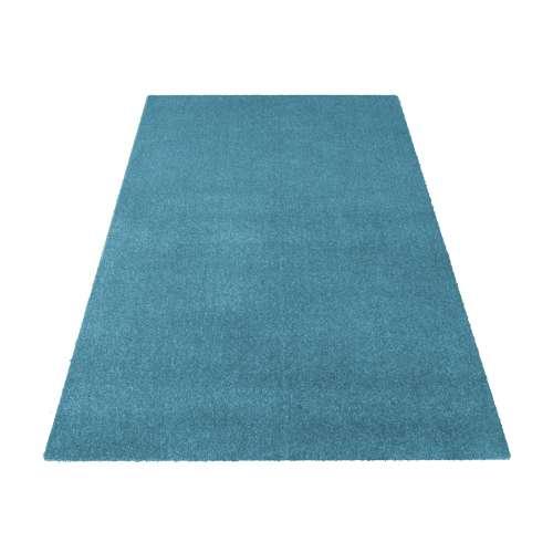 Dywan Portofino jednolity - niebieski (N)