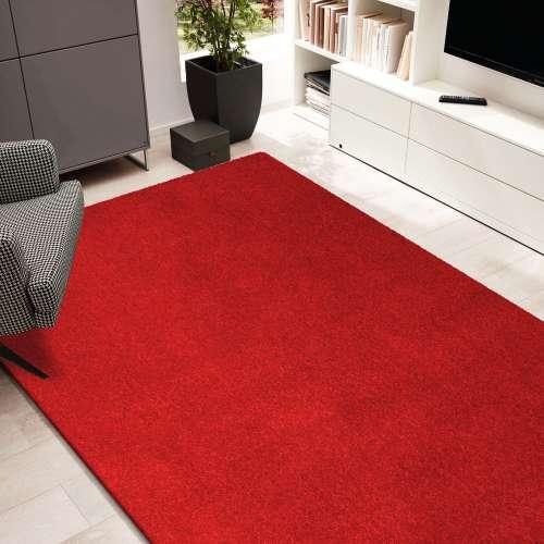 Dywan Portofino jednolity czerwony