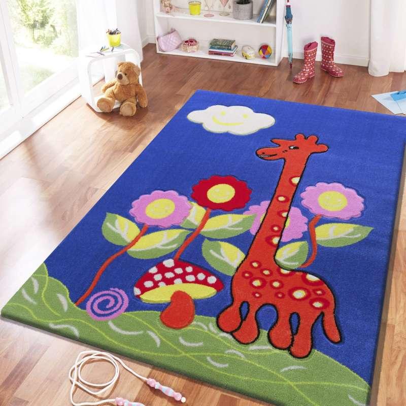 Dywan dla dziecka Kids 02 Niebieski