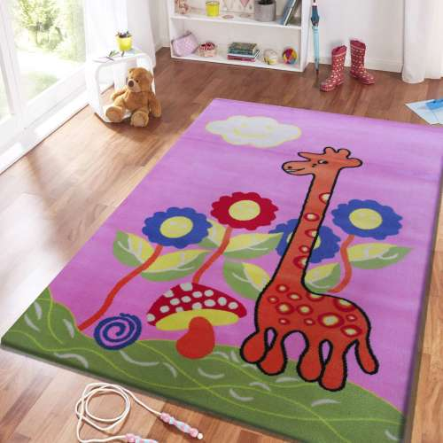 Dywan dla dziecka Kids 02 Różowy