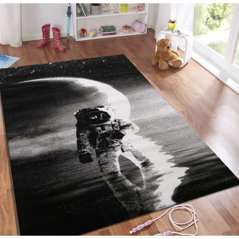 Dywan dziecięcy Soho 21 - astronauta - szary
