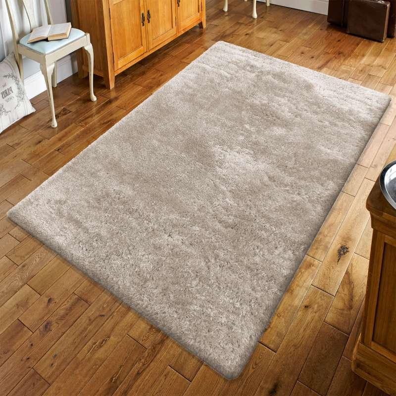 Puszysty dywan z długim włosem- Merinos cappucino