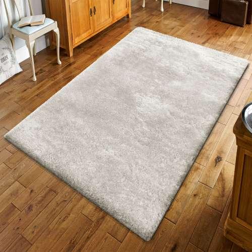 Puszysty dywan z długim włosem- Merinos kremowy