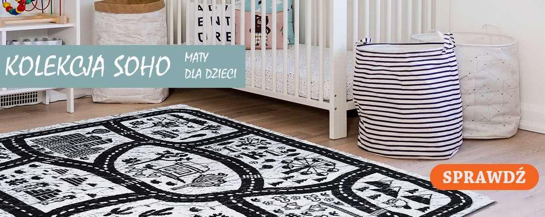 dywany dla dzieci kolekcja soho