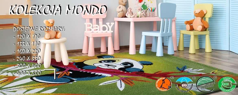 dywany dla dzieci kolekcja mondo